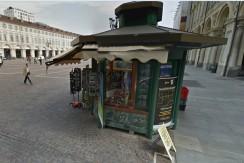 Edicola con chiosco di proprietà in Piazza San Carlo (TO)